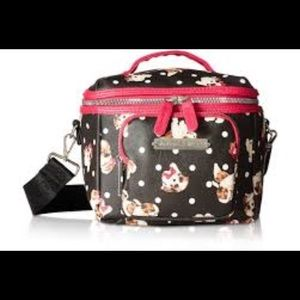Betsey Johnson Insulated Lunch Tote Bag puppies